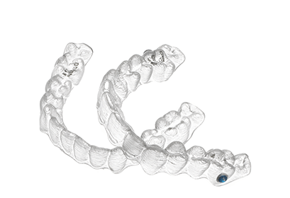 Invisalign retainer image, Yamamoto and Lee Family Dentists Roseville CA